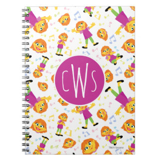 Sesame Street | Julia Music Pattern Notebook