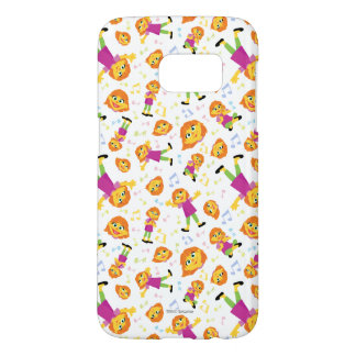 Sesame Street | Julia Music Pattern Samsung Galaxy S7 Case