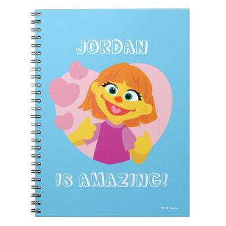 Sesame Street | Julia Pink Heart Notebook