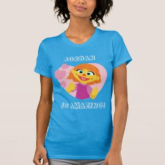Sesame Street | Julia Pink Heart T-Shirt