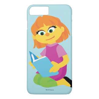 Sesame Street | Julia Reading a Book iPhone 8 Plus/7 Plus Case