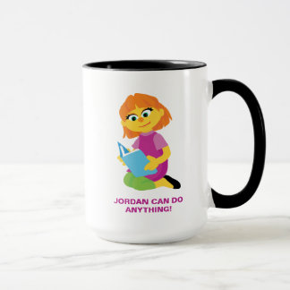 Sesame Street | Julia Reading a Book Mug