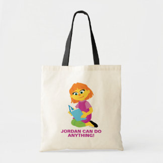 Sesame Street | Julia Reading a Book Tote Bag
