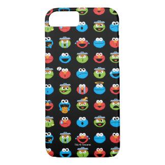 Sesame Street Pals Emoji Pattern iPhone 7 Case