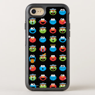 Sesame Street Pals Emoji Pattern OtterBox Symmetry iPhone 8/7 Case