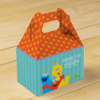 Sesame Street Pals Favor Box