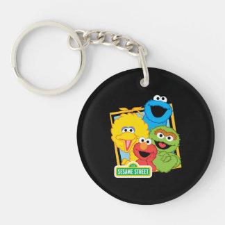 Sesame Street Pals Keychain
