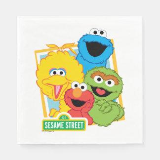 Sesame Street Pals Paper Napkins
