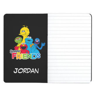 Sesame Street | Sesame Friends | Add Your Name Journal