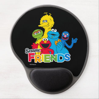 Sesame Street | Sesame Friends Gel Mouse Pad