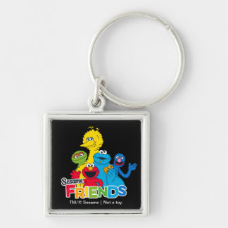 Sesame Street   Sesame Friends Keychain