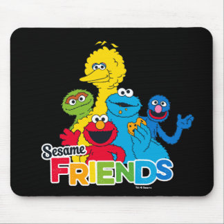 Sesame Street | Sesame Friends Mouse Pad