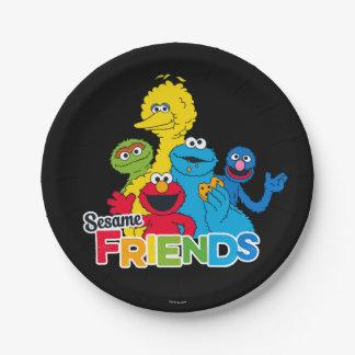 Sesame Street | Sesame Friends Paper Plate