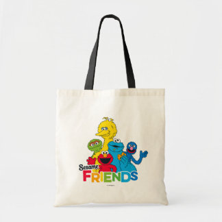 Sesame Street | Sesame Friends Tote Bag