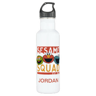 Sesame Street - Sesame Squad 710 Ml Water Bottle