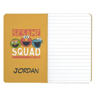 Sesame Street - Sesame Squad | Add Your Name Journals