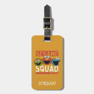 Sesame Street - Sesame Squad Bag Tag