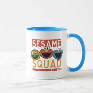 Sesame Street - Sesame Squad Mug