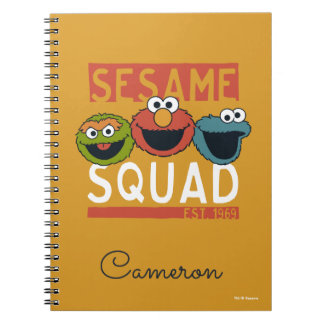 Sesame Street - Sesame Squad Note Books