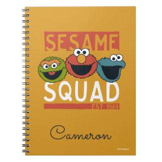 Sesame Street - Sesame Squad Notebooks