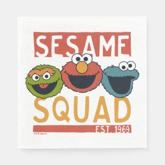 Sesame Street - Sesame Squad Paper Napkins