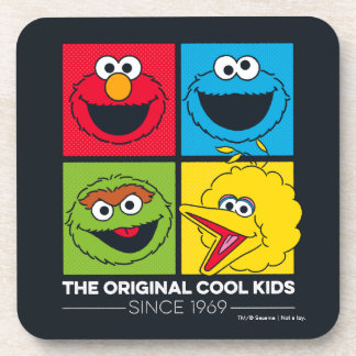 Sesame Street | The Original Cool Kids Coaster