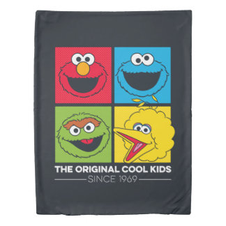 Sesame Street | The Original Cool Kids Duvet Cover