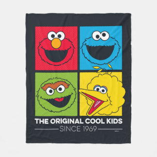 Sesame Street | The Original Cool Kids Fleece Blanket