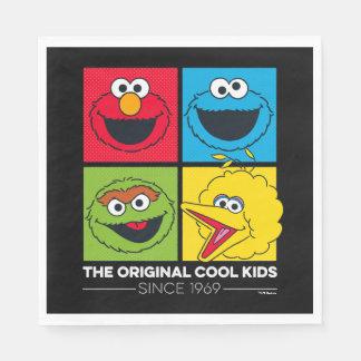 Sesame Street | The Original Cool Kids Paper Napkins