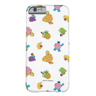 Sesame Street Tropical Pattern Barely There iPhone 6 Case