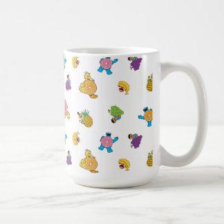 Sesame Street Tropical Pattern Coffee Mug