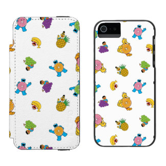 Sesame Street Tropical Pattern Incipio Watson™ iPhone 5 Wallet Case
