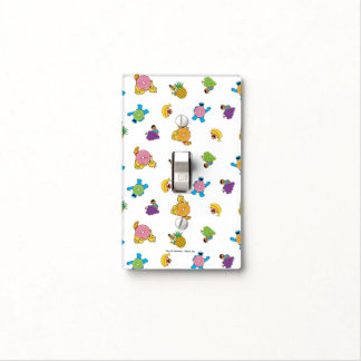 Sesame Street Tropical Pattern Light Switch Cover