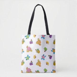 Sesame Street Tropical Pattern Tote Bag