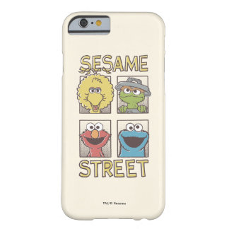 Sesame StreetVintage Character Comic Barely There iPhone 6 Case