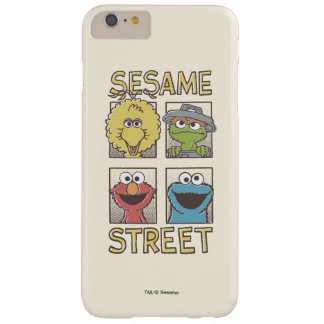 Sesame StreetVintage Character Comic Barely There iPhone 6 Plus Case