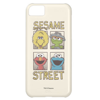 Sesame StreetVintage Character Comic Case For iPhone 5C