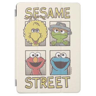 Sesame StreetVintage Character Comic iPad Air Cover