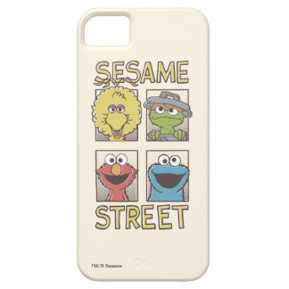 Sesame StreetVintage Character Comic iPhone 5 Covers