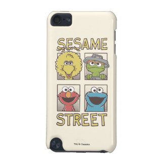 Sesame StreetVintage Character Comic iPod Touch 5G Cover