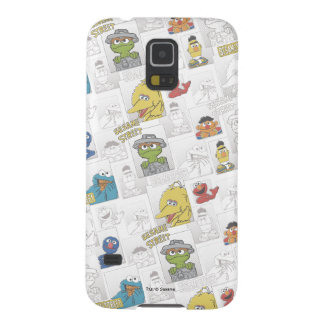 Sesame StreetVintage Comic Pattern Cases For Galaxy S5