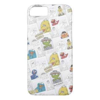 Sesame StreetVintage Comic Pattern iPhone 7 Case