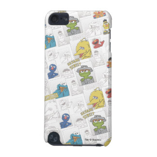 Sesame StreetVintage Comic Pattern iPod Touch (5th Generation) Case