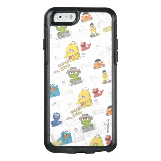 Sesame StreetVintage Comic Pattern OtterBox iPhone 6/6s Case