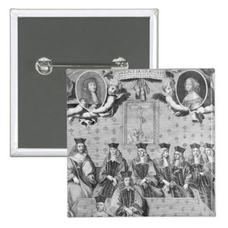 Session of the Grands Jours d'Auvergne 2 Inch Square Button