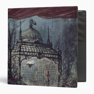 Set design for 'The Magic Flute' 3 Ring Binder