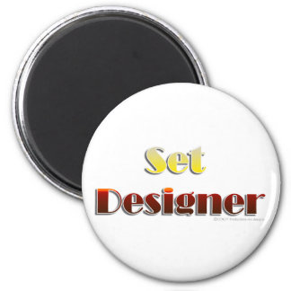 Set Designer (Text Only) Magnet