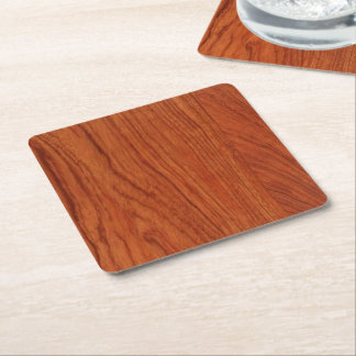 Set of 6 Tough, durable, and absorbent Square Paper Coaster