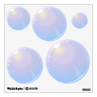 Set of Bubble Decals