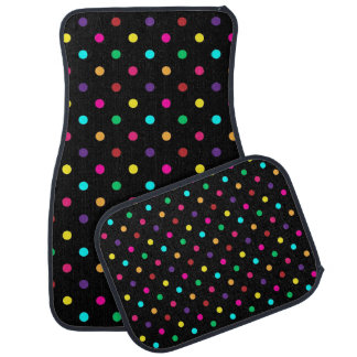 Set of Car Mats Polka Dot
